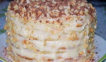 Как приготовить творожный торт на сковороде