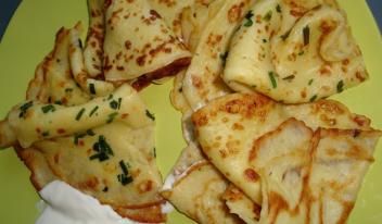 Как приготовить картофельные блины на молоке (из картошки)