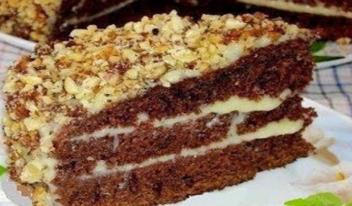 Как приготовить вкусный шоколадный торт на кефире