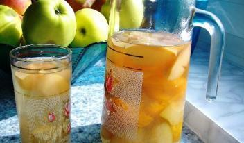 Как сварить вкусный кисель из свежих яблок
