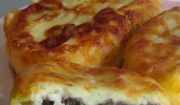 Картофельные зразы рецепт с фото