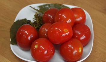 Квашеные помидоры на зиму