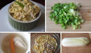 Легкий и диетический: Салат из пекинской капусты с курицей