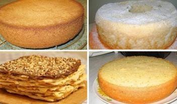 Лучшие коржи для тортов: ТОП-6 рецептов приготовления!