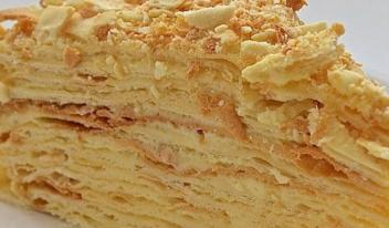 Лучший и самый нежный торт «Наполеон» по классическому рецепту