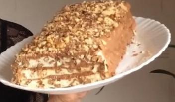 Нет ни грамма муки: простой рецепт вкуснейшего торта