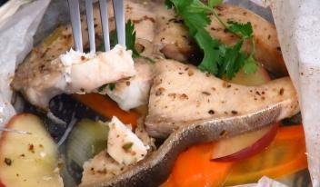 Нежная, сочная рыба в духовке за 15 минут!