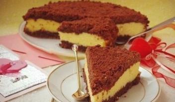 Нежный творожный «Торфяной» пирог