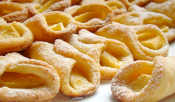 Низкокалорийные творожные печенья с яблоками