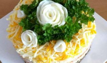 Обалденный салат «Шаланда» в домашних условиях