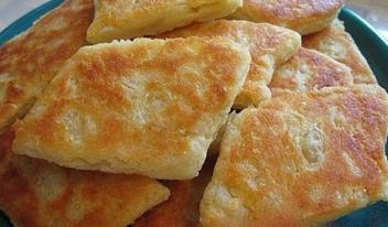 Картофельные ромбики в духовке