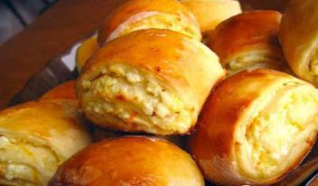 Оригинальные булочки «Творожное чудо» в духовке