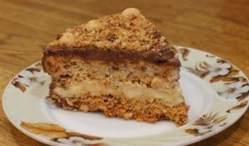 Оригинальный рецепт приготовления киевского торта