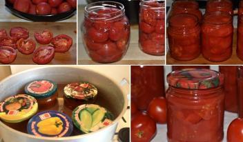 Острые помидоры на зиму с хреном и чесноком