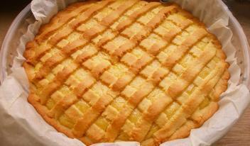 Песочный лимонный пирог - наивкуснейший рецепт!