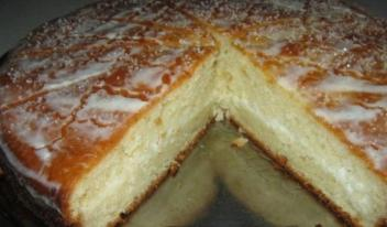 Пошаговый рецепт творожного пирога «Удача»