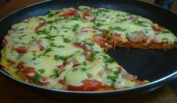 Пицца на сковороде за 5 минут!