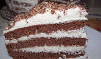 Простой рецепт: шоколадный торт за 5 минут!
