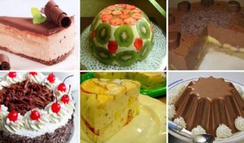 Подборка десертов без выпечки на скорую руку. 6 простых способов