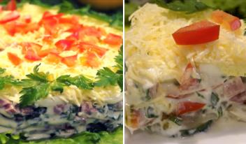 Потрясающе вкусный салат с секретной заправкой!