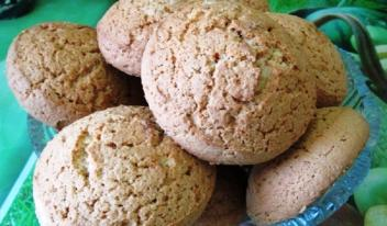 Рецепт домашнего овсяного печенья