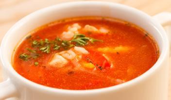 Рецепт легкого низкокалорийного супа