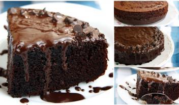 Рецепт шоколадного бисквита на молоке