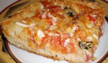 Как приготовить в домашних условиях самую вкусную пиццу!