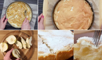 Самый простой рецепт пирога с грушами в духовке