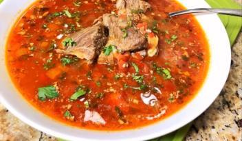 Самый вкусный грузинский суп «Харчо»!