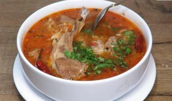 Самый вкусный суп «Харчо»: пошаговый рецепт приготовления