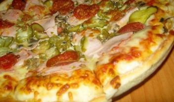 Как приготовить идеальное тесто для пиццы