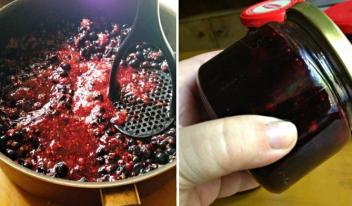 Шведское ягодное варенье