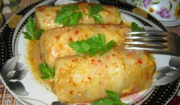 Старинный рецепт приготовления  голубцов по-херсонски!