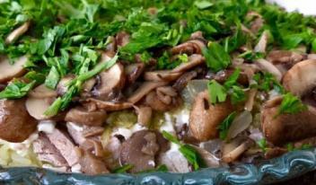 Салат «Лемберг» пошаговый рецепт