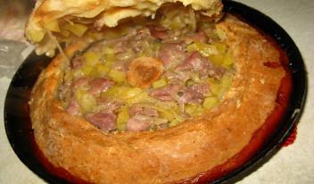 Татарский пирог «Зур Бэлиш»: простой пошаговый рецепт