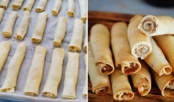 Татарское печенье «Бармак» пошаговый рецепт с фото