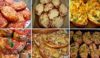ТОП-7: простые рецепты горячих бутербродов!