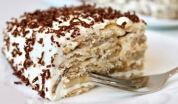Торт без выпечки за 10 минут!