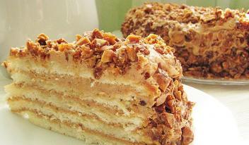 Торт «Добош» пошаговый рецепт