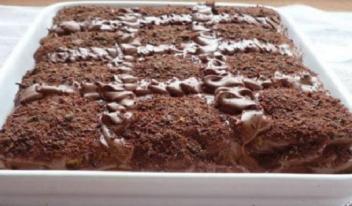Торт «Кофе с шоколадом» без выпечки