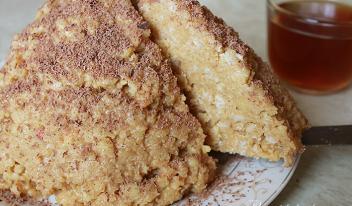 Торт «Муравейник» с арахисом пошаговый рецепт