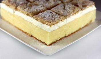 Торт «Наполеон» в балканском стиле