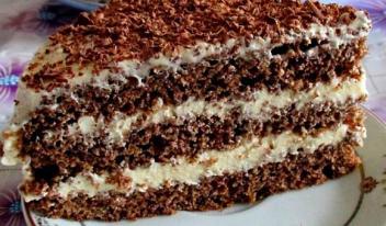 Торт «Поль Робсон» пошаговый рецепт с фото