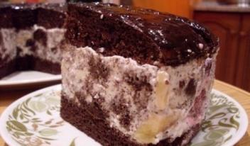 Торт шоколадный «Африканская ромашка»