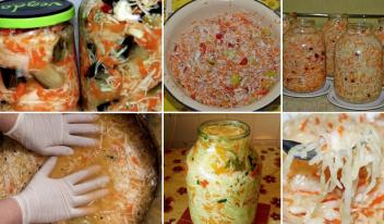 Вкусная капуста на зиму: квашеная и маринованная капуста, салаты из капусты