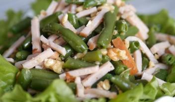 Вкусный и сытный салат без майонезa