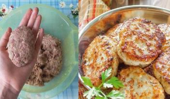 Котлеты с горчицей пошаговый рецепт