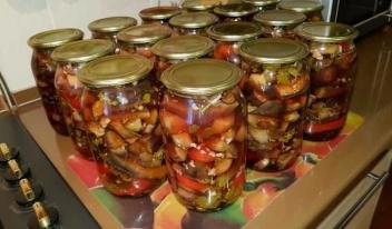 Жареные перцы с баклажанами: пошаговый рецепт