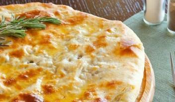 Аппетитный овсяно-сырный пирог